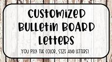 Letters For Bulletin Boards Templates Free Customized Bulletin Board Letters