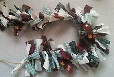 how to make a garland with scrap fabrics 9 steps with