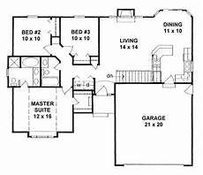 small ranch house plan two ranch style house plan 3 beds 2 00 baths 1162 sq ft plan
