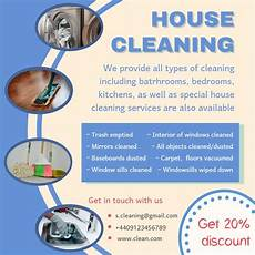 Cleaning Services Ads Cleaning Service Ad Sample Cleaning Service House