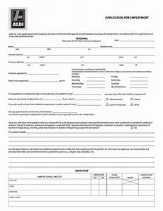 Free Online Job Applications Download Aldi Job Application Form Careers Pdf