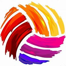 Cool Volleyball Designs Painted Volleyball Shirt Art Vector Clipart Painted Design