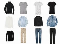 basic clothes a common capsule wardrobe with the vivienne files