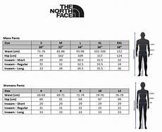 North Face Denali Mens Size Chart The North Face Mens Paramount Trail Pant Asphalt Grey