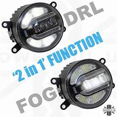 Discovery 1 Fog Lights Led Front 2in1 Fog Drl Lamp Light For Landrover Discovery