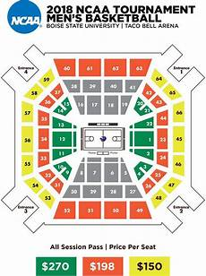 Boise State Taco Bell Arena Seating Chart Taco Bell Arena Tickets Taco Bell Arena Seating Chart