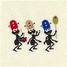 Ant Embroidery Design Ant Marching Band Embroidery Designs Machine Embroidery