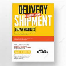 Delivery Flyer Template Delivery Flyer Template Template For Free Download On Pngtree