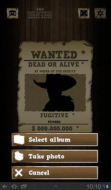 Wanted Poster Maker Wanted Poster Maker For Android Apk Download