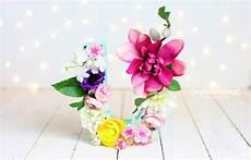 letras con flores diy letras con flores y mucho arte muymolon