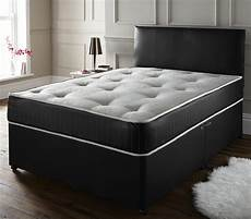 memory leather divan set available in 7 colours and 4 sizes