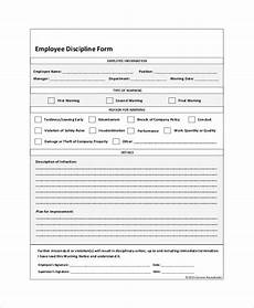 Employee Disciplinary Action Form Word 23 Employee Write Up Form Download Word Pdf Templates