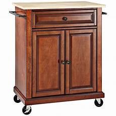 cherry kitchen island cart york wood top cherry 2 door kitchen island cart