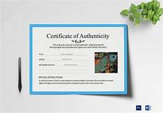 Authentication Certificate Format Printable Certificate Template 35 Adobe Illustrator