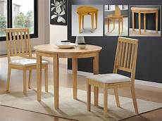 Small Dining Table Compact Dining Space Arrangement With Drop Leaf Dining
