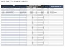 Estimating Sheet Free Estimate Templates Smartsheet