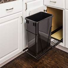 single trash can pullout 15 inch cabinet all cabinet parts