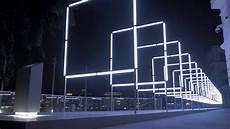 Led Light Installation 160 Interactive Light Amp Sound Installation Youtube