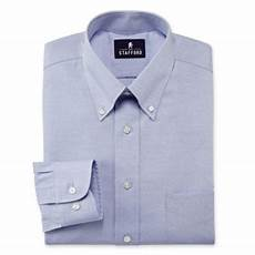 Jcpenney Stafford Shirt Size Chart Stafford 174 Travel Performance Pinpoint Oxford Dress Shirt