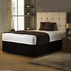 affordable hf4you memory foam divan bed set supportive