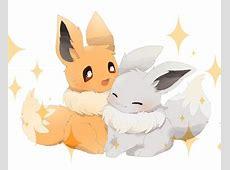 #Eevee #ShinyEevee   Eevee   Shiny eevee, Cute pokemon