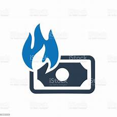 Financial Waste Financial Waste Icon Stock Illustration Download Image