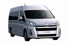 toyota hiace 2019 2019 toyota hiace debuts with new engines safety kit paul