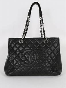 chanel caviar leather shopping bag luxury bags