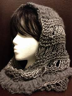 charity s loom knits changes hooded cowl
