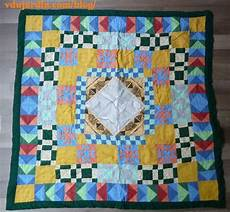 couverture en patchwork le de v 233 ronique d