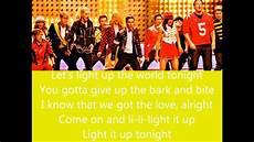 Glee Light Up The World Glee Light Up The World Lyrics Youtube