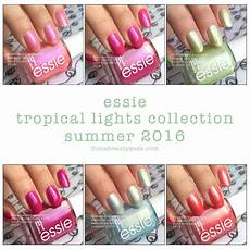 Essie Tropical Lights Essie Tropical Lights 2016 Swatches Amp Review Beautygeeks
