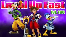 Kingdom Hearts 2 5 Sora Level Up Chart How To Level Up Fast In Kingdom Hearts Hd 1 5 Remix Youtube