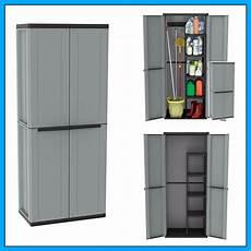 outdoor utility cabinet 2 door plastic cupboard shelves