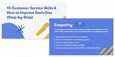 How To Improve Your Customer Service Skills 15 Customer Service Skills Amp How To Improve Step By Step