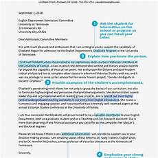 Academic Letter Of Recommendation Sample Academic Recommendation Letters