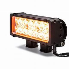 Amber Driving Lights 7 5 Quot Dual Row Heavy Duty Off Road Amber Led Light Bar