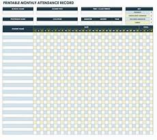 Attendance Maker Free Attendance Spreadsheets And Templates Smartsheet