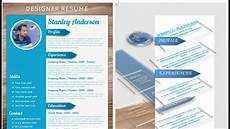 Designs For Microsoft Word Cv Resume Design Tutorial With Microsoft Word Youtube