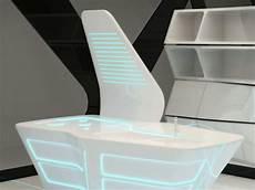 corian materiale futuristic corian kitchen and dining area