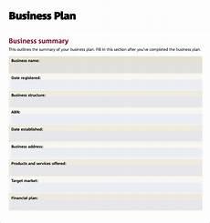 Free Download Business Plan Templates Free 9 Sample Business Plan Templates In Google Docs Ms