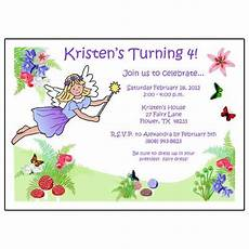 Fairy Party Invite Fairy Birthday Party Invitation Mandys Moon Personalized