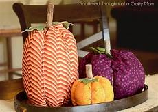 tutorial easy fabric pumpkins for fall sewing