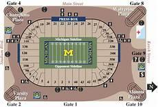 Arbor Michigan Stadium Seating Chart Michigan Stadium Arbor Mi Seating Chart View
