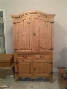 beautiful large wooden tv cabinet ebay