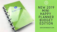 2019 Mini Happy Planner the new 2019 mini happy planner budget edition is here