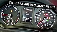 Golf Airbag Light Reset How To Reset The Air Bag Light On Volkswagen Airbag Youtube