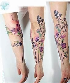 aquarell blumen t 228 towierung tattoos ink