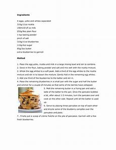 Or Receipt Sample Instruction Writing Examples Of Recipes By Ruthbentham