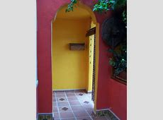 Inserts Into Saltillo Fllor Tile At Main Entrance, Mexican Home Decor Gallery. Mission